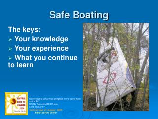 Safe Boating