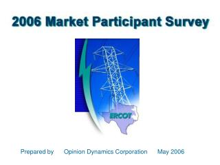 Prepared by      Opinion Dynamics Corporation      May 2006