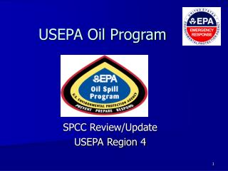 USEPA Oil Program