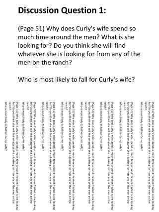 (Page 56) Why does George seem to prefer a whore house over Curly's wife? What is the difference?