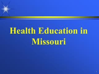 Health Education in Missouri