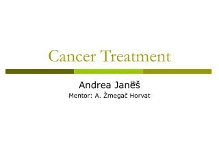 Cancer Treatment