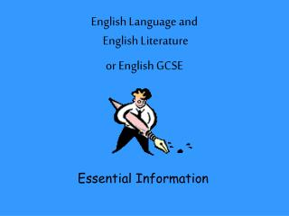 English Language and  English Literature  or English GCSE