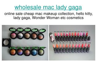 mac makeup wholesale