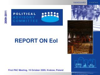 REPORT ON EoI