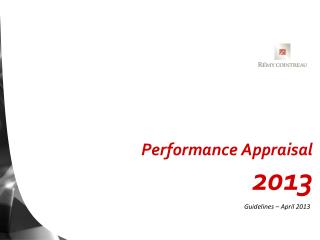 Performance Appraisal 2013