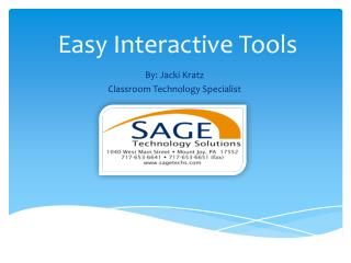 Easy Interactive Tools