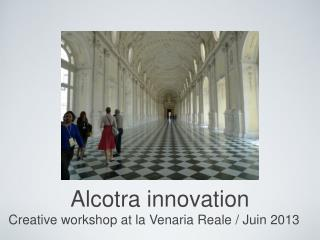 Alcotra innovation