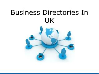 Business Directories In UK