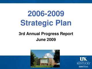 2006-2009  Strategic Plan