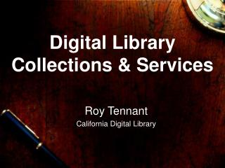 Digital Library  Collections & Services