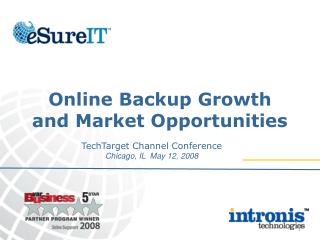 Online Backup Growth  and Market Opportunities