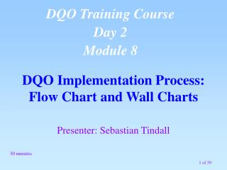 DQO Implementation Process: Flow Chart and Wall Charts