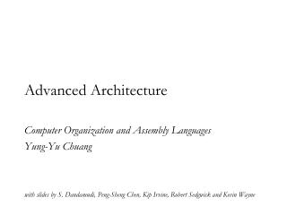 Advanced Architecture