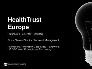 HealthTrust Europe