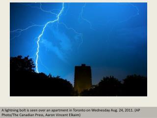 Electrifying lightning photography