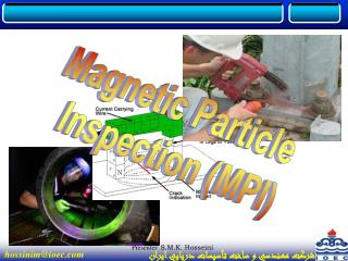 Magnetic Particle  Inspection (MPI)