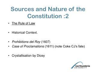 Sources and Nature of the Constitution :2