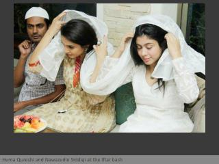 Gangs of Wasseypur cast at an Iftar party