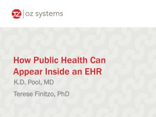 How Public Health Can Appear Inside an EHR