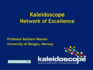 Kaleidoscope Network of Excellence