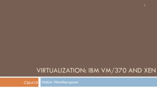 Designing a Virtual Machine