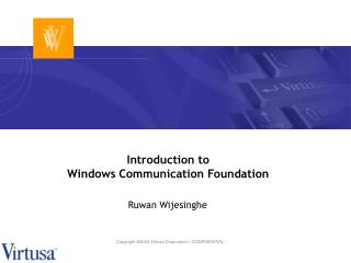 Introduction to Windows Communication Foundation