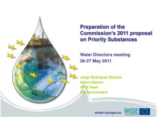 Preparation of the Commission's 2011 proposal on Priority Substances