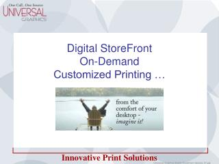 Digital StoreFront On-Demand Customized Printing …