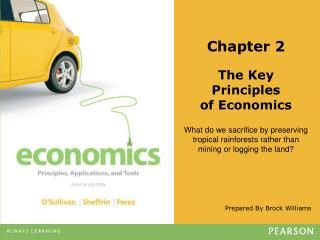 Chapter 2 The Key Principles of Economics