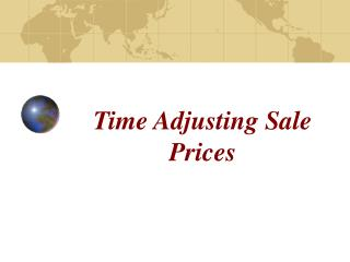 Time Adjusting Sale Prices