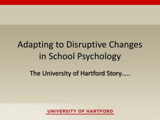 Adapting to Disruptive Changes in School Psychology