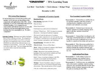 """CONJUNTOS"" ~ TPA Learning Team"
