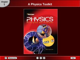 A Physics Toolkit