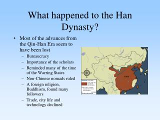 What happened to the Han Dynasty?