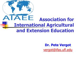 Association for International Agricultural and Extension Education