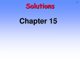 Chapter 16: Applications of Neutralization Titrations