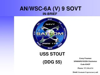 AN/WSC-6A (V) 9 SOVT IN-BRIEF
