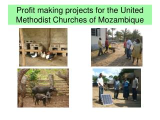 Profit making projects for the United Methodist Churches of Mozambique