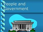 People and Government