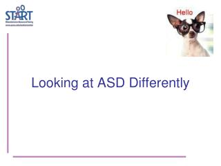 Looking at ASD Differently