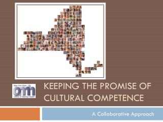 Keeping the Promise of Cultural Competence