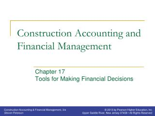 Construction Accounting and Financial Management