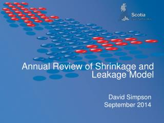Annual Review of Shrinkage and Leakage Model