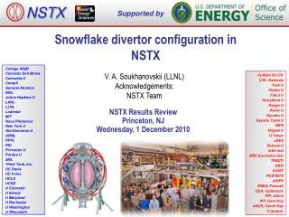 Snowflake divertor configuration in NSTX