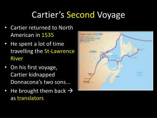 Cartier's  Second  Voyage