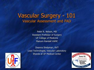 Vascular Surgery - 101 Vascular Assessment and PAD