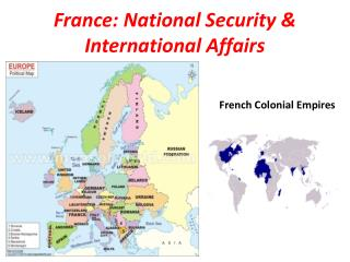 France: National Security & International Affairs