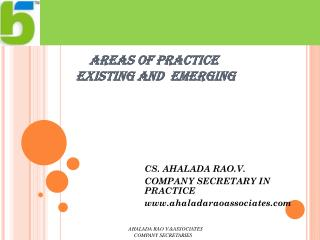 AREAS OF PRACTICE      EXISTING AND  EMERGING