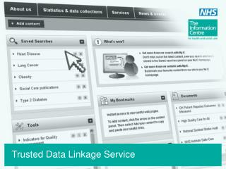 Trusted Data Linkage Service
